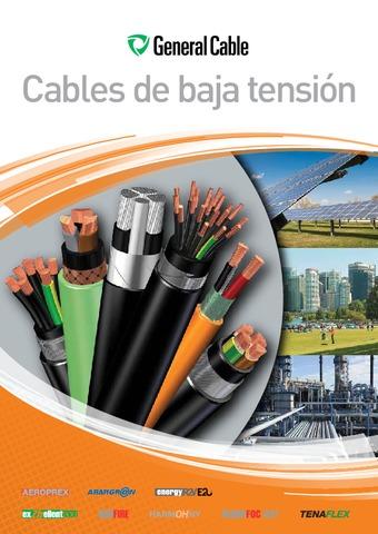 GENERAL CABLE  - Catálogo Cables de baja tensión