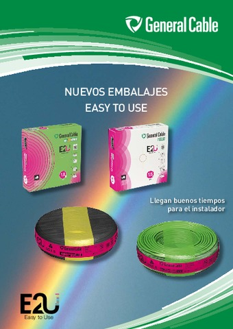 GENERAL CABLE - Catálogo Nuevos embalajes easy to use E2U