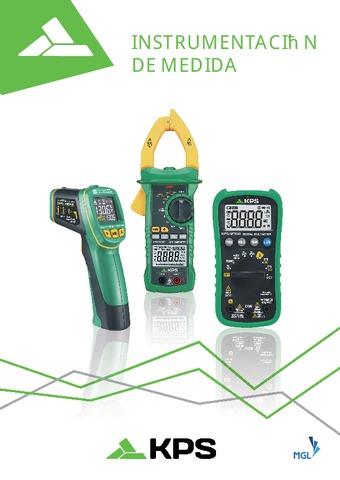 KPS - Catálogo Instrumentación de medida 2019