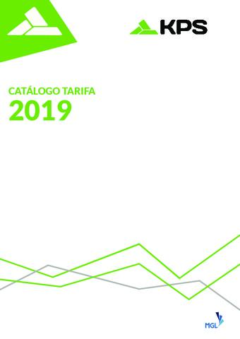 KPS - Catálogo Tarifa 2019 v2
