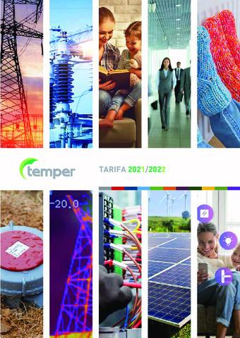 TEMPER - TARIFA 2021-2022 actualizada