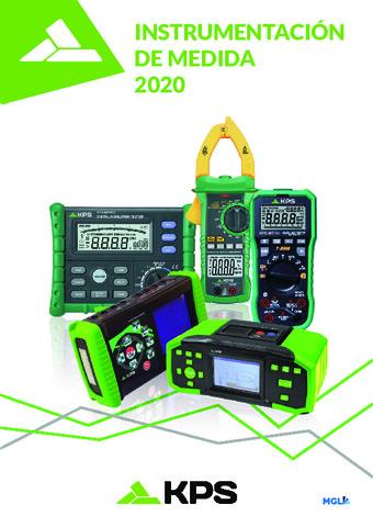 KPS - Catálogo de instrumentación de medida 2020