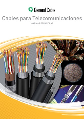 GENERAL CABLE - Catálogo Cables para telecomunicaciones ebook