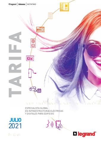 LEGRAND - Tarifa Julio 2021