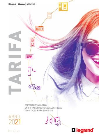 LEGRAND - Tarifa abril 2021