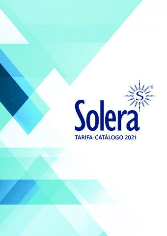 SOLERA - Tarifa_Catálogo JULIO 2021