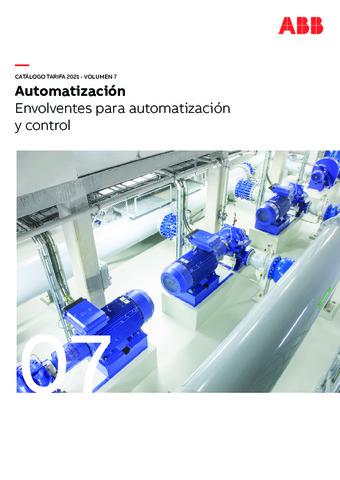 Tarifa Febrero 2021 Envolventes para automatización y control (Vol.7)