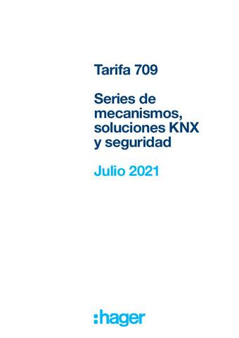 HAGER - Nueva tarifa 709