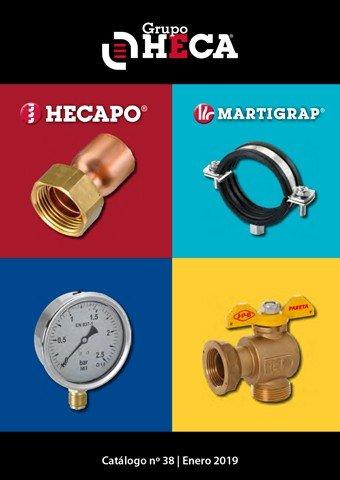 HECAPO - Catálogo-Tarifa nº38 Enero 2019