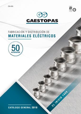 GAESTOPAS - Catálogo General 2019