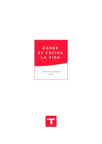 TEKA - Catálogo 2019 Primeras páginas