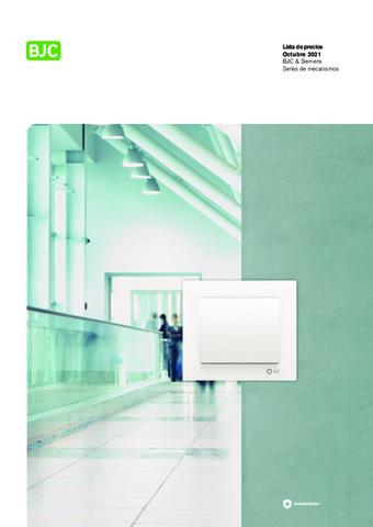 BJC - La lista general de precios BJC y Siemens