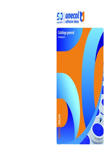 Catálogo Unecol 2020