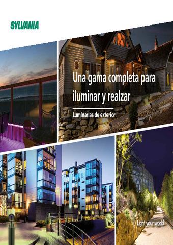Sylvania - Catálogo iluminación exterior 2021