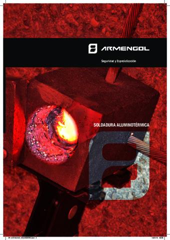 ARMENGOL - Catálogo Soldadura Aluminotérmica