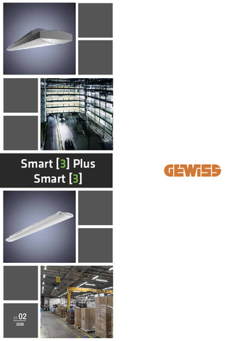 Catálogo - Gewiss Smart 3 Plus y Smart 3