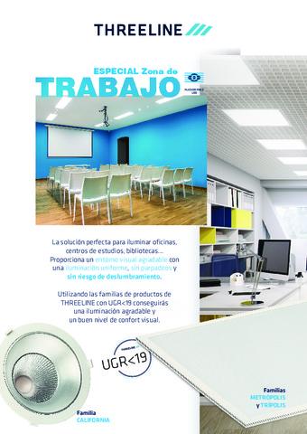 THREELINE - Catálogo Lineas zona de trabajo