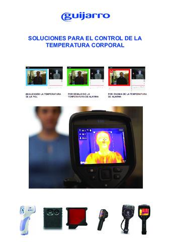 Guijarro Hermanos - Catálogo control de la temperatura corporal