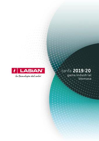LASIAN TARIFA INDUSTRIAL 2019/20