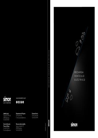 SIMON -  Catálogo recarga vehículo eléctrico