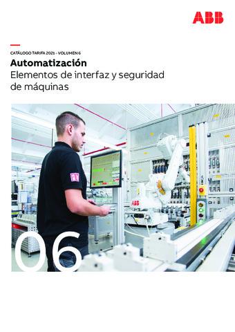 ABB - Elementos de interfaz y seguridad de máquinas