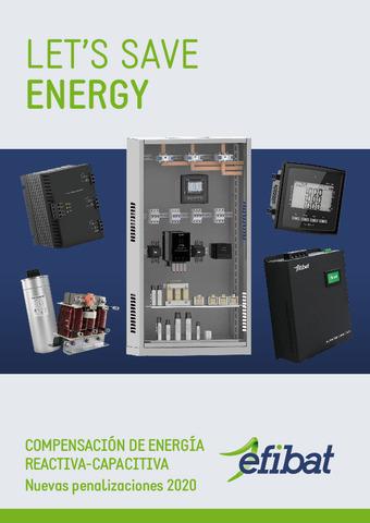 Catálogo - Efibat Compensación de energía reactiva-capacitiva