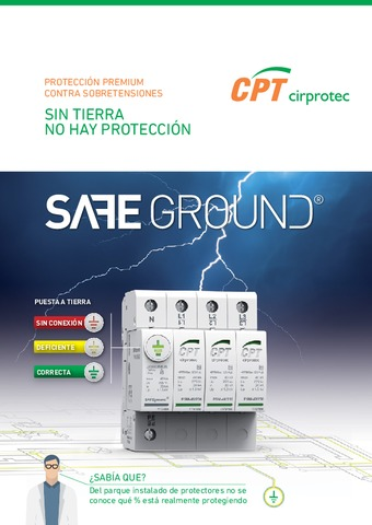 CIRPROTEC - Protección Premium sobretensiones SAFEGROUND