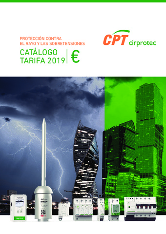 CIRPROTEC - Tarifa 2019