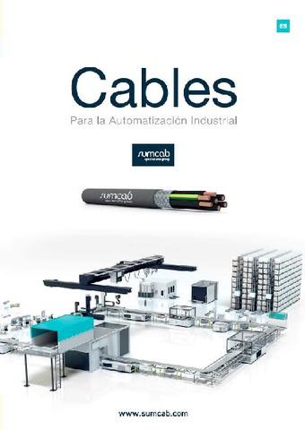 SUMCAB - Catálogo Cables Automatización Industrial