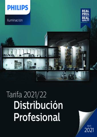 Tarifa 2021/22