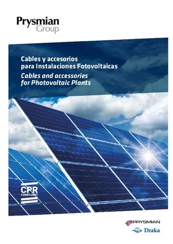 PRYSMIAN - Soluciones Fotovoltaicas 2018