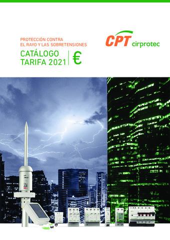 CIRPROTEC - Tarifa 2021