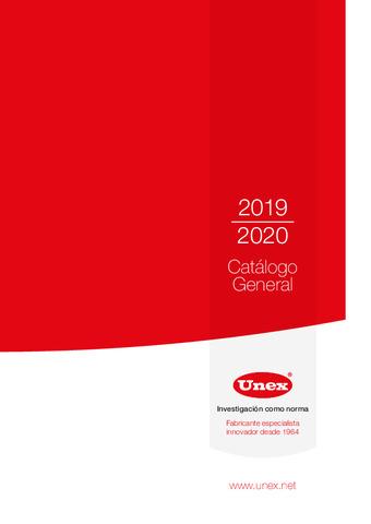 UNEX - Catálogo General 2019 / 2020