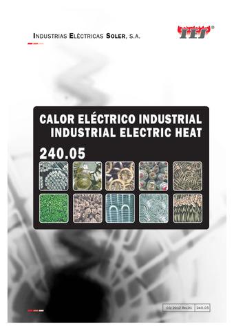 Calor eléctrico industrial 2020