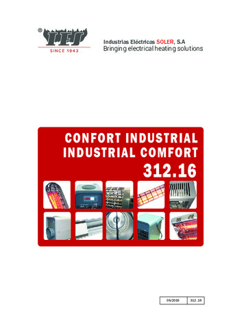 Confort industrial 2020