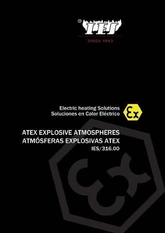 ATEX Atmósferas explosivas 2020