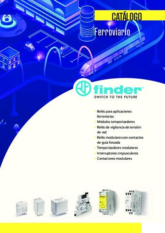 FINDER - Catálogo Ferroviario