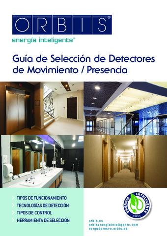 ORBIS - Guía detectores Presencia / Movimiento