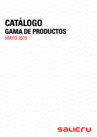 SALICRU - Catálogo Mayo 2019