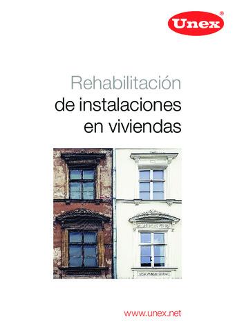 UNEX - Rehabilitación de instalaciones en viviendas