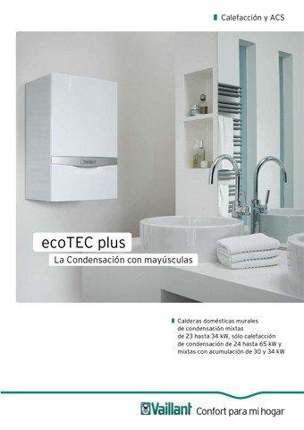 VAILLANT - Catálogo ecoTEC plus