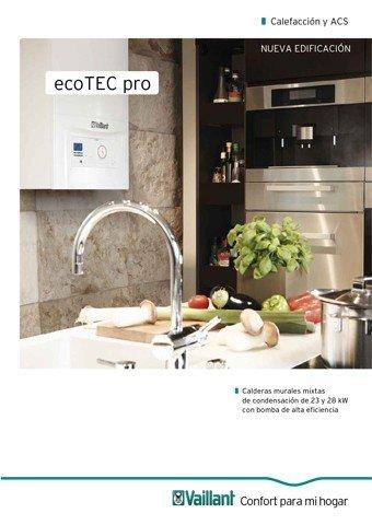 VAILLANT - Catálogo ecoTEC pro