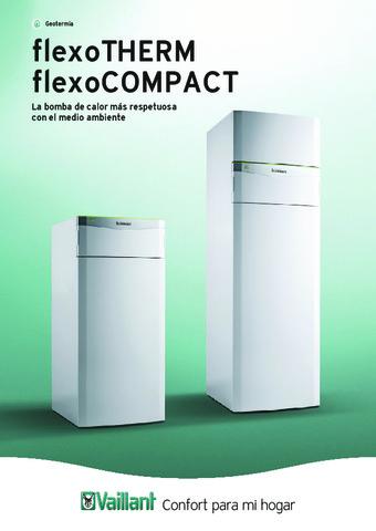 VAILLANT - Catálogo flexoTHERM / flexoCOMPACT