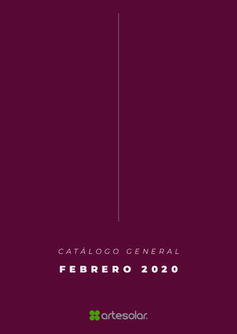 ARTESOLAR - Catálogo General 2020