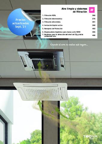Tecna -  Catálogo Aire limpio 2021