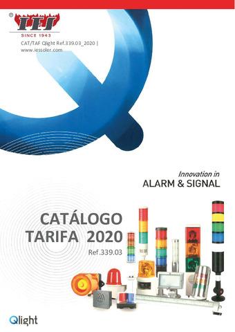 Tarifa señalización QLIGHT2 2020
