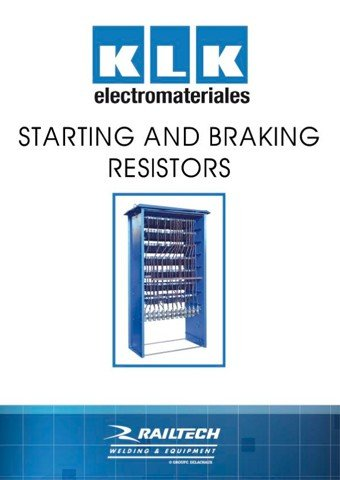 KLK - Starting and braking resistors