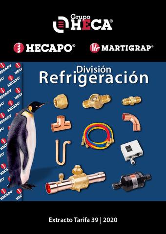 HECAPO EXTRACTO CATALOGO DIVISION REFRIGERACION