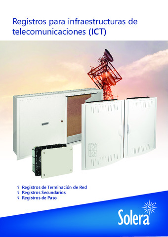 Catálogo Tarifa ICT 2020