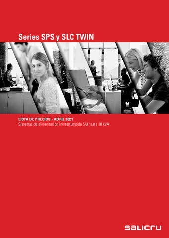 SALICRU - Tarifa Series SPS y SLC TWIN Abril 2021